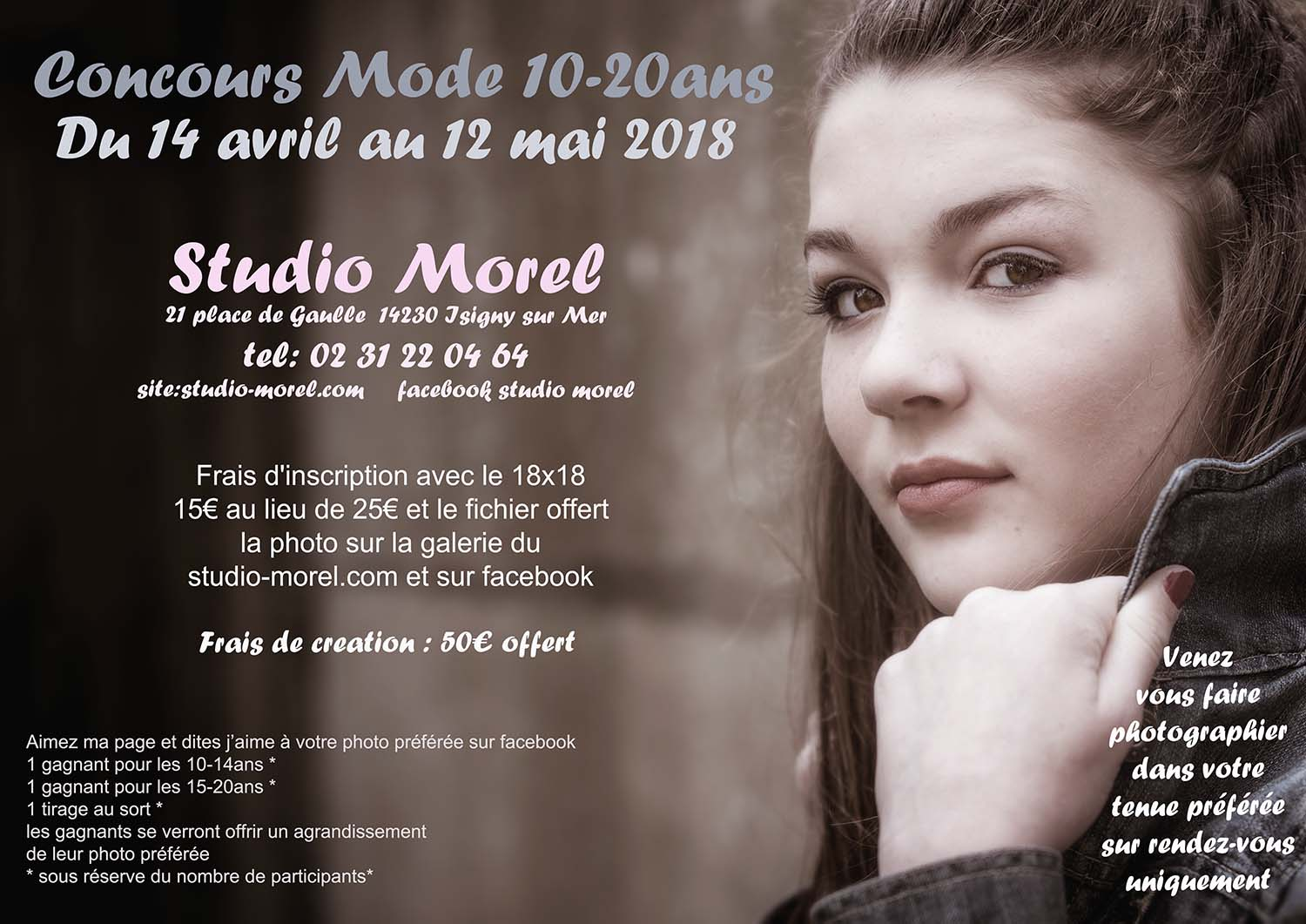 Concours mode 10 - 20ans