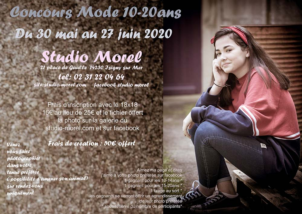Concours Mode 10-20ans